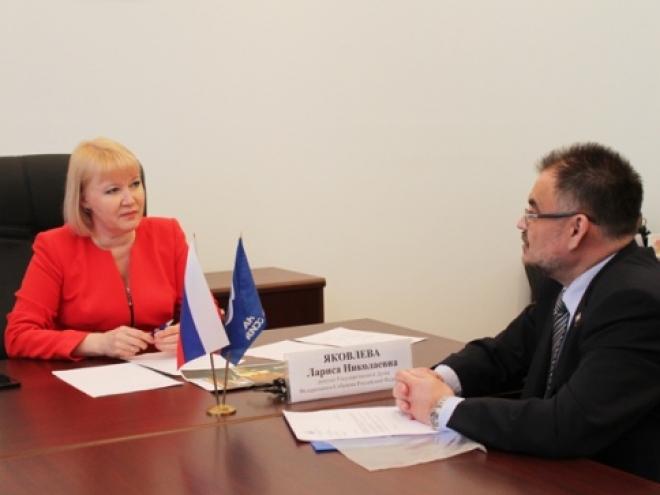 Более 20 жителей Марий Эл пришли на прием к российскому парламентарию