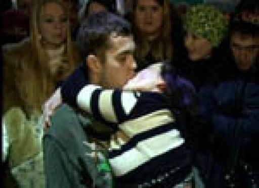 В Йошкар-Оле установлен рекорд продолжительности поцелуя