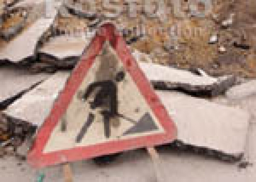 Перекрытие дороги около йошкар-олинского стадиона «Дружба» продлится ещё как минимум три дня