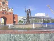 Йошкар-олинские фонтаны решили включить в преддверии майских праздников