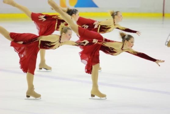 Марий Эл принимает Чемпионат России по синхронному катанию на коньках