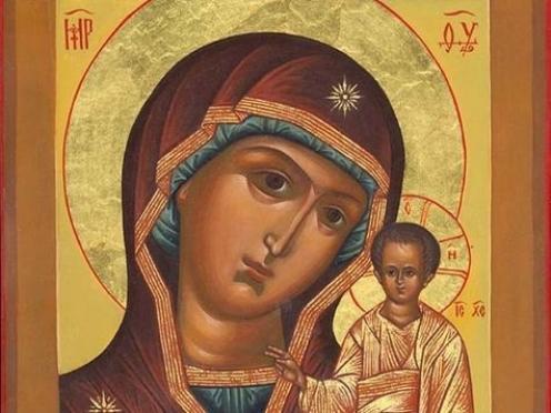 Православные верующие празднуют явление Казанской иконы Божьей Матери