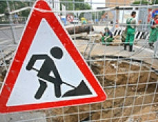 Движение автотранспорта в столице Марий Эл зависит от работы подземных коммуникаций