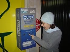 В студенческих общежитиях хотят установить автоматы по продаже презервативов
