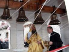 В Марий Эл началось освящение тюремных колоколов