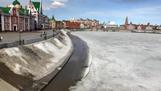 На реках республики начался процесс распада льда