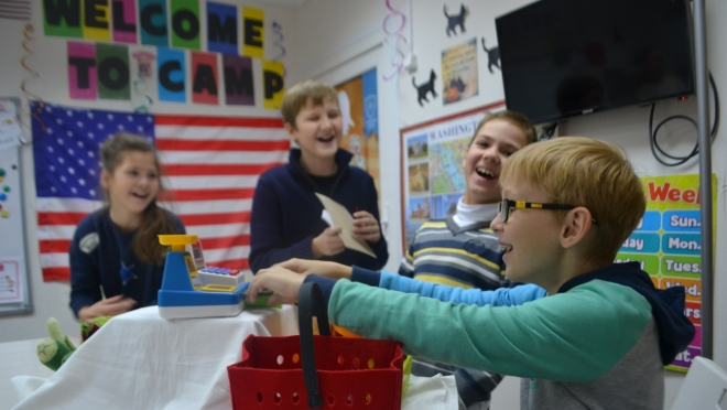 Образовательный центр «ЮНИСКУЛ» приглашает школьников в зимний лагерь на смену «Зимний хайп»!