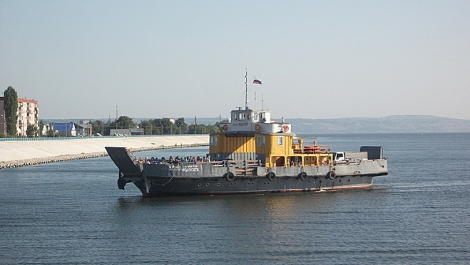 Паром «Капитан Федосеев» открыл навигацию