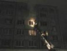 В Йошкар-Оле пожар унес жизни двух оставленных без присмотра детей