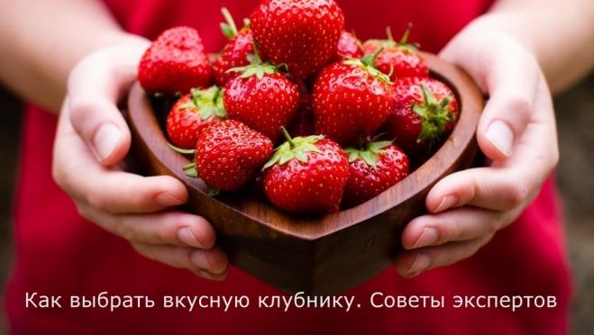 Как выбрать вкусную клубнику. Советы экспертов