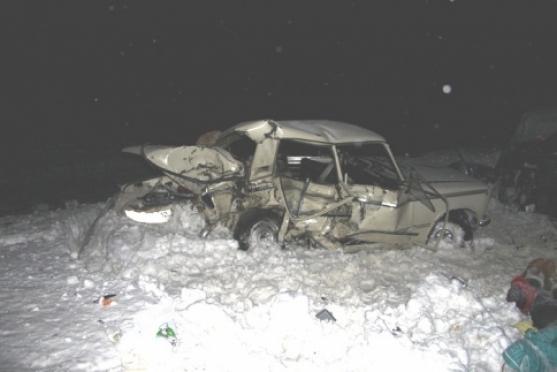 На федеральной трассе в Марий Эл погибли три человека
