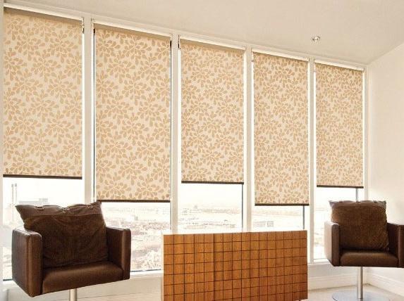 Рулонные шторы - это практичный и оригинальный способ  оформления окна.