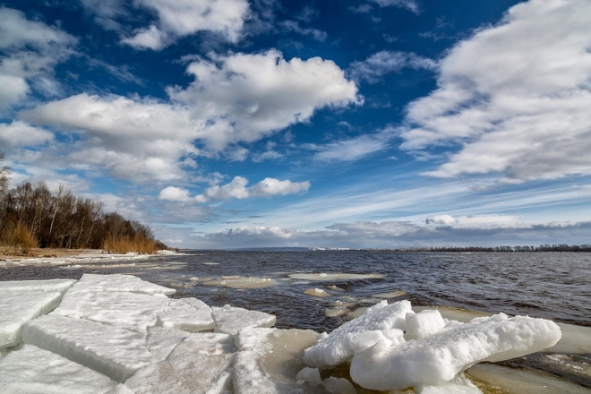 В Марий Эл вскрытие рек ожидается в I-II декаде апреля