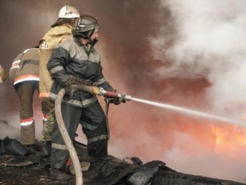 Ситуация с пожарами в Марий Эл остается напряженной