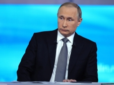 Владимир Путин — в прямом эфире