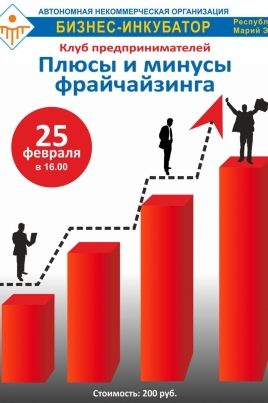 Плюсы и минусы франчайзинга постер