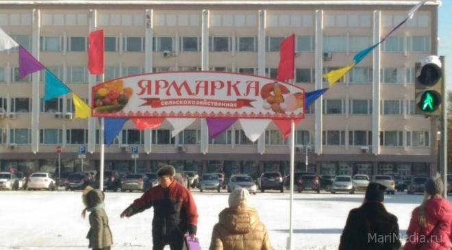 На площади Ленина развернутся ярмарочные ряды