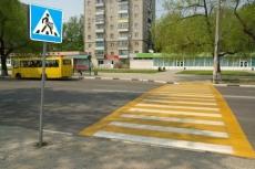 Пешеходные переходы станут желтыми, и рядом с ними появятся «лежачие полицейские» (Марий Эл)