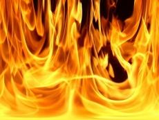 В Советском районе школьники устроили пожар