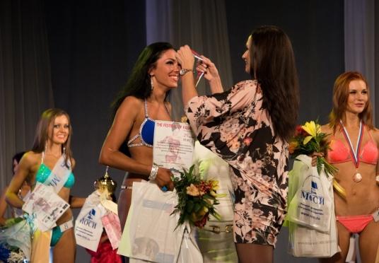 «Мисс фитнес-бикини 2014» стала Анастасия Малышева