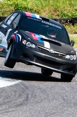 Соревнования по автокроссу постер