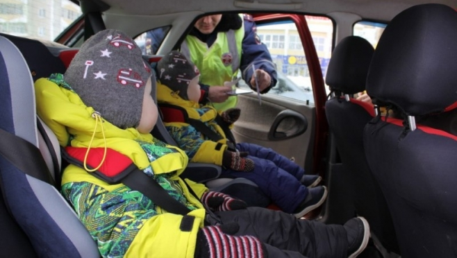 В Марий Эл пройдут рейдовые проверки машин с детьми