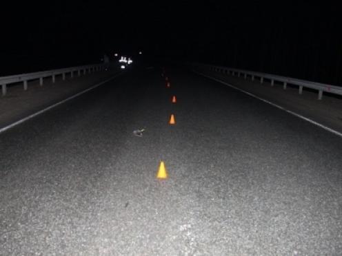 Ночью на Казанском тракте неустановленная машина сбила насмерть пешехода