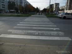 В Йошкар-Оле на пешеходном переходе сбили пожилую женщину