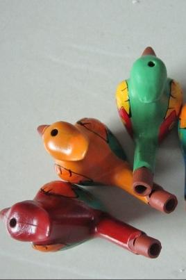 Роспись керамической игрушки постер