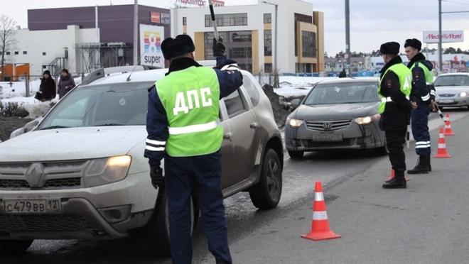 На дорогах Йошкар-Олы увеличены наряды ДПС