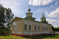 В селе Васильевское Юринского района освящен храм