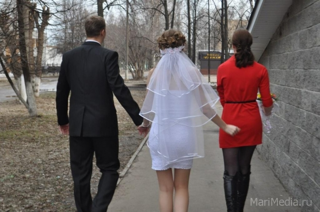 Регистрацию брака хотят вынести за стены Дворцов бракосочетания