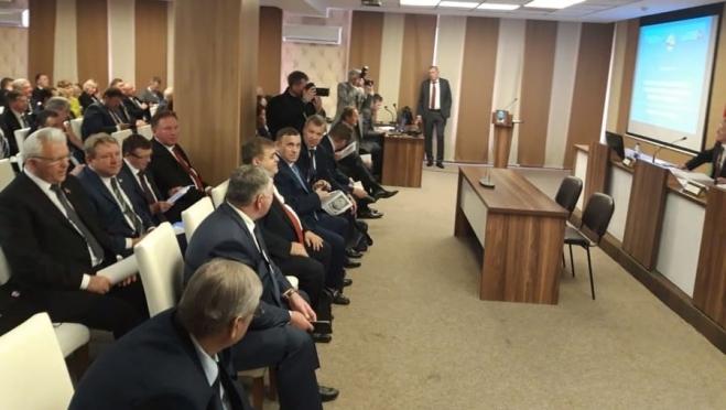 Александр Евстифеев с рабочим визитом находится в Республике Беларусь