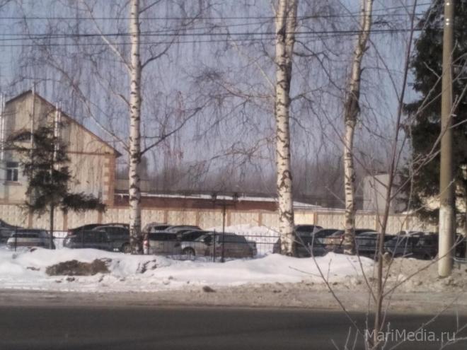 На Йошкар-Олинском мясокомбинате работают семь пожарных расчетов