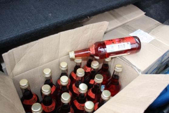 В Марий Эл изъята крупная партия паленого алкоголя