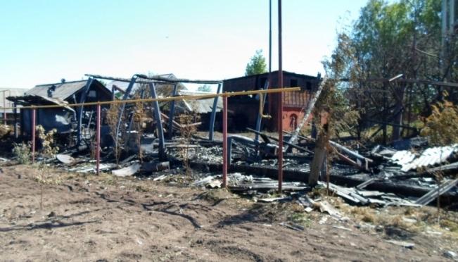 В Параньгинском районе дети подожгли канистру с бензином и устроили пожар