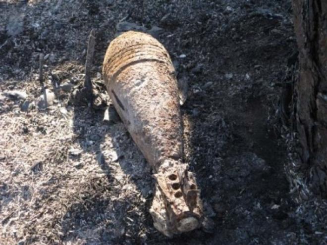В Медведевском районе полицейские обезвредили минометную мину