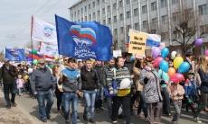 Профсоюзы и политические партии отмечают Первомай