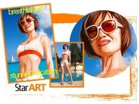 * breathtaking stunning vacation - захватывающий потрясающий отдых; * Star ART - Стар Арт.