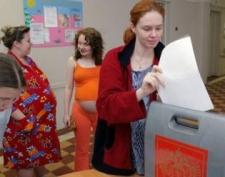В Йошкар-олинском перинатальном центре в день выборов рожали и голосовали
