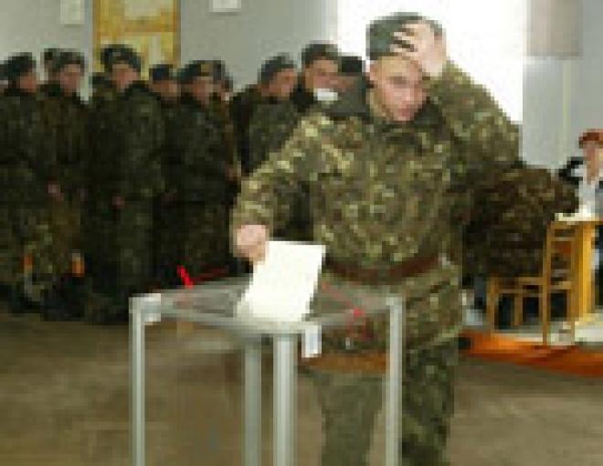 В Марий Эл военных вновь первыми подпустят к урнам для голосования на президентских выборах