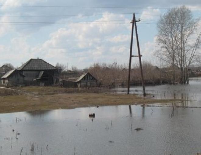 В Марий Эл затопило поселок Кокшайск