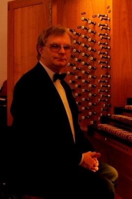 Алексей Шмитов в концерте  для органа с оркестром постер