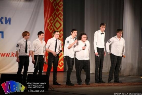 """Команда """"Белый орел"""" из Йошкар-Олы успешно преодолела первый тур Сочинского фестиваля КВН"""