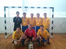Команда «Связист» заняла первое место в соревнованиях по мини-футболу среди любительских команд республики Марий Эл