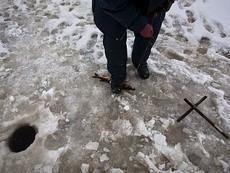 Рыбакам не стоит выходить на лед в районе Йошкар-Олы