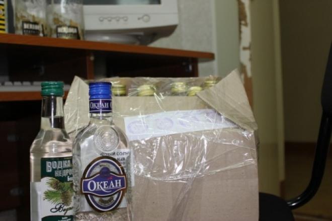 В Йошкар-Оле обнаружили паленую водку