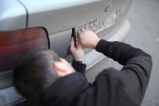 За кражу автомобильных номеров предлагают сажать