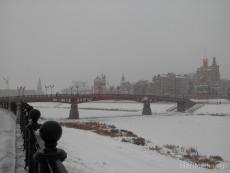 Спасатели провели замеры льда на реке Малая Кокшага в Йошкар-Оле