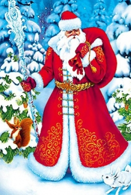 Галерея Деда Мороза постер